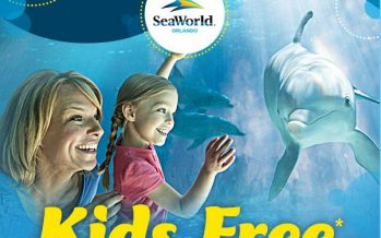 SeaWorld Orlando Kids Free Ticket