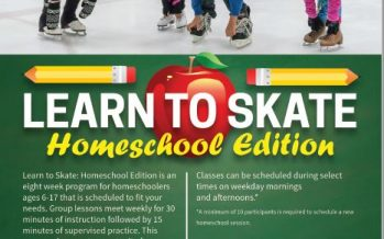 Learn to Skate for Homeschoolers