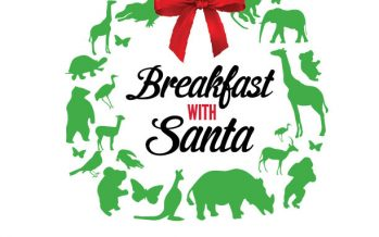 Central Florida Zoo Santa Breakfast