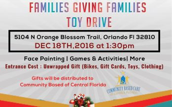 Families Giving Families Toy Drive Orlando