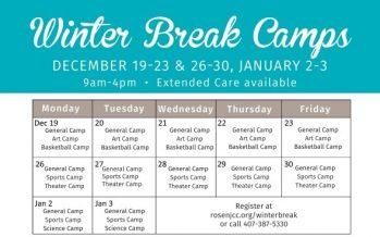 JCC Orlando Winter Break Camps