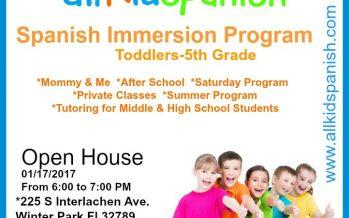 All Kids Spanish Open House