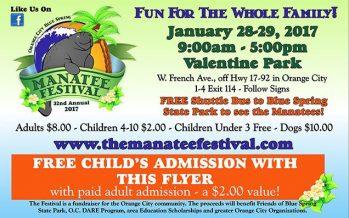 2017 Central Florida Manatee Festival