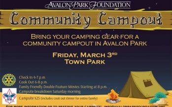 Avalon Park Family Campout