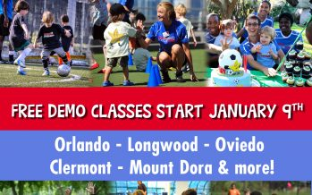 Free Orlando Soccer Demo Classes