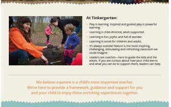 Tinkergarten Early Childhood Learning
