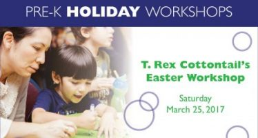 T. Rex Cottontail's Pre-K Easter Workshop
