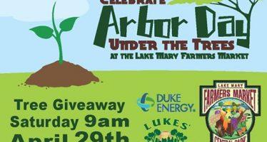 Lake Mary Arbor Day Under the Trees