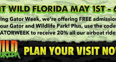 Free Entry Wild Florida Week
