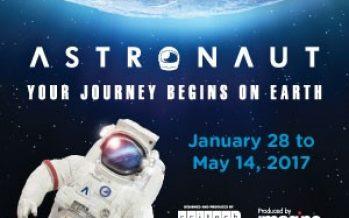 Astronaut Exhibit Closes May 14