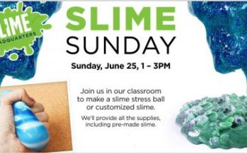 Slime Sunday at Michaels