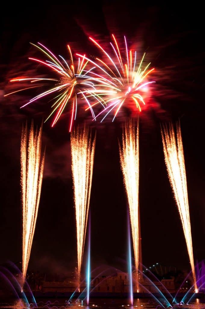 SeaWorld July 4th Fireworks
