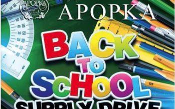 Back to School Drive in Apopka