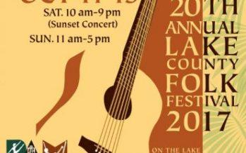 Lake County Folk Festival 2017