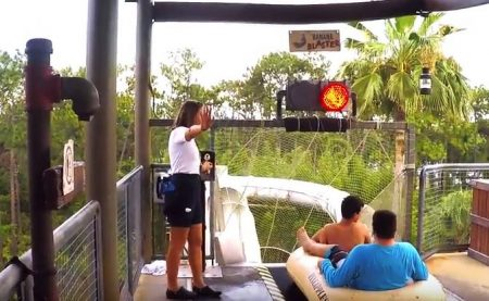 Typhoon Lagoon Glow Nights Family Video Review