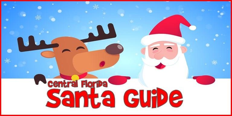 Santa Guide for Central Florida 2019