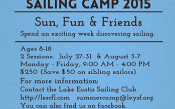 Sailing Summer Camp | My Central Florida Family