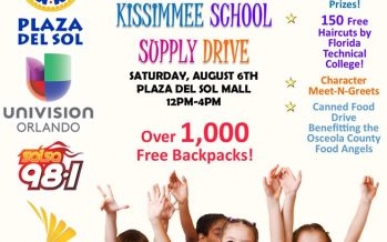 Kissimmee School Supply Drive