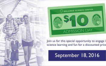 Orlando science center discount coupon