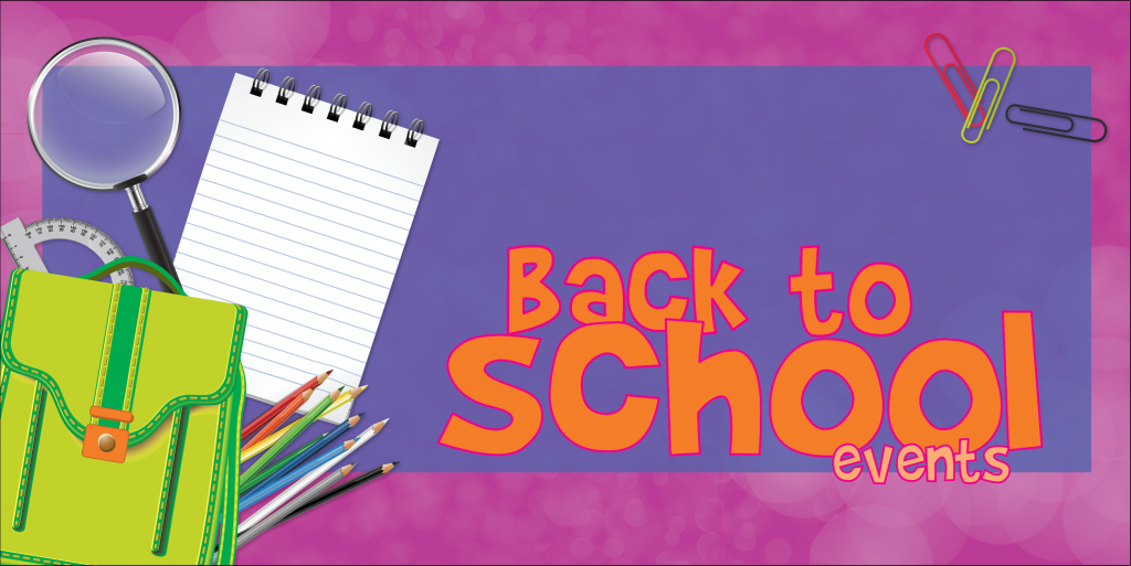 Back to School Events 2021