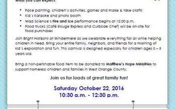 Central Florida Family Fall Carnival