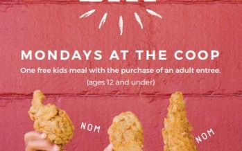 The Coop Kids Eat Free