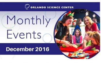 Orlando Science Center December Events