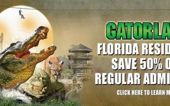 Half Off Tickets for Gatorland