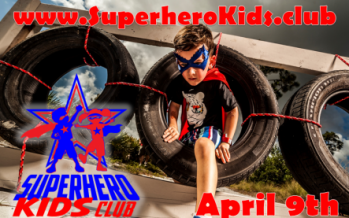 Superhero Themed Obstacle Course Event