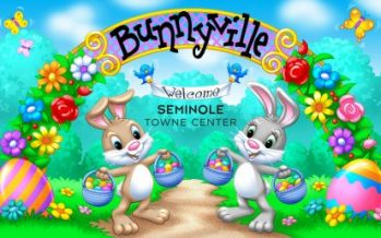 Easter Fun Day at Seminole Towne Center