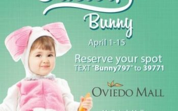 Oviedo Mall Easter Bunny