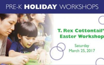 T. Rex Cottontail's Pre-K Easter Workshop
