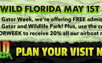 Free Entry Wild Florida Week