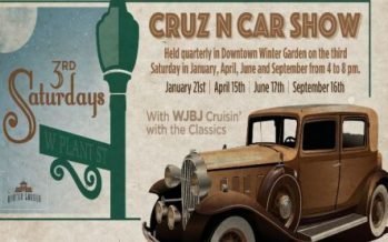 Winter Garden's Cruz N Car Show