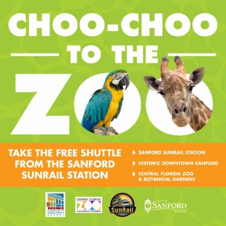 Choo Choo to the Central Florida Zoo