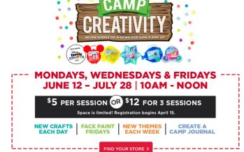 Michaels Camp Creativity 2017