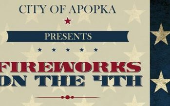 Apopka Fireworks on the 4th
