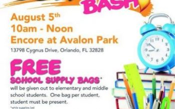 Avalon Park Back to School Bash