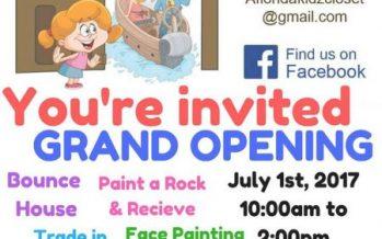 A Florida Kidz Closet Grand Opening