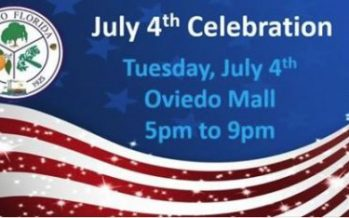 4th of July Celebration at Oviedo Mall