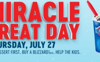 Miracle Treat Day at Dairy Queen 2017