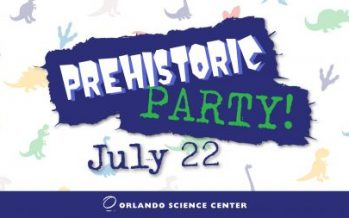 Orlando Science Center Prehistoric Party