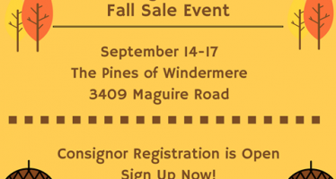 The Kids Sale Fall Consignment Sale