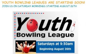 Youth Bowling Leagues Start Soon
