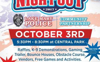 National Night Out Lake Mary 2017