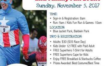 Superhero 5K Run 2017