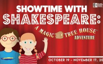 A Magic Tree House Adventure at Shakes
