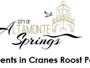 Upcoming Events at Cranes Roost Park