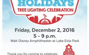 Downtown Orlando Holiday Events 2017