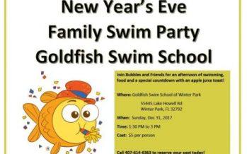 Goldfish Swim School New Year's Eve